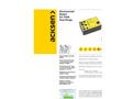 Model EC-7VAR - Three Phase Voltage, Current & Power Factor Data Logger Brochure
