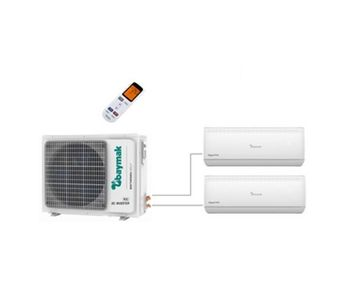 Baymak - Model Elegant Prime Multi  18 1X2 - Wall Type Split Air Conditioner