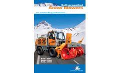 Rolba - Snow Blower - Brochure