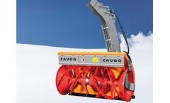 Zaugg - Model SF 65E - Snow Blower