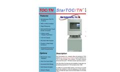StarTOC TOC/TN On-Line Process Analyzer - Brochure