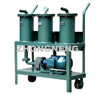 Model JL Series - Portable Oil Purifier and Oiling Machine