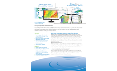 StormData - Historical Rainfall Data Service Software Brochure