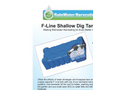 F-Line Shallow Dig Tank Garden System Brochure