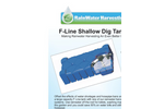 F-Line Shallow Dig  Tank Direct Feed System Brochure
