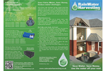 Rainwater Harvesting Systems Brochure