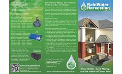 Rainwater Harvesting Systems Brochure