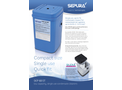 Sepura - Model SEP 60 ST - Low Capacity Single Use Condensate Cleaners Brochure