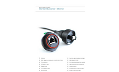Bulgin Elektron - Model Cat5e RJ45 - Shielded Coupler Flange Mount Connector Brochure