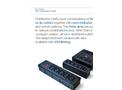 Bulgin Elektron - Model PXD301-PXD303-PXD306 Series - 5 Shuttered Outlets IEC Distribution Unit Brochure