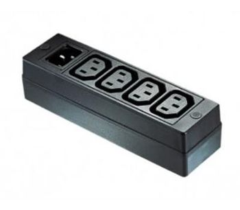 Bulgin Elektron - Model PXD200-PXD201 Series - 4 Outlets IEC Power Distribution Block Units