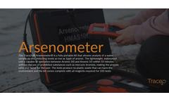 Trace2o Arsenometer - Portable Arsenic Testing Kit - Brochure
