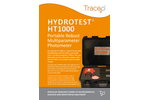 Trace2o Hydrotest - Model HT1000 - Portable Robust Multiparameter Photometer - Brochure