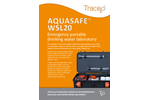 Aquasafe WSL20 Emergency Portable Drinking Water Laboratory - Brochure