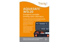 Aquasafe WSL20 Emergency Portable Drinking Water Laboratory - Brochure
