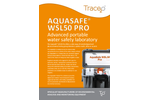 Aquasafe WSL50 Pro- Advanced portable  water safety laboratory - Brochure