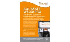 Aquasafe WSL50 Pro- Advanced portable  water safety laboratory - Brochure