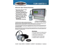 Arrow Hunter - Model PLUS V3 - Fixed Wall Mount Clamp-on Flowmeter Brochure