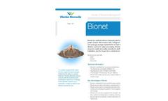 Warden Biomedia - Model BioNet - Plastic Random Filter Media - Brochrue