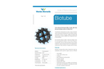 Warden Biomedia - Model Biotube - Tube Shaped Biological Filter Media - Brochure