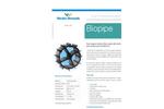 Warden Biomedia - Model Biopipe - Pipe Shaped Random Filter Media - Brochure
