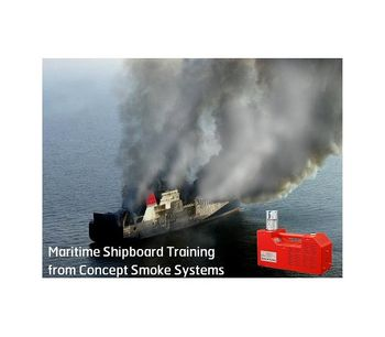 Smoke generator device for maritime shipboard fire training - Shipbuilding & Water Transport - Maritime