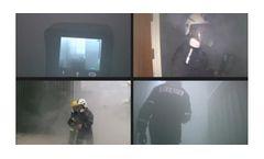 Smoke generator device for fire training, emergency evacuation & BA training