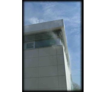 Smoke generator device for building envelope, energy studies & air tightness testing - Construction & Construction Materials