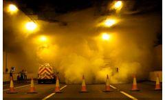 Smoke generator device for PPV & impulse ventilation testing