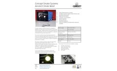 Concept Smoke Systems Aerotech Smoke Wand - Brochure