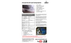 Concept Aircraft Leak Testing System (ALTS) - Brochure