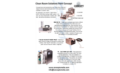 Clean Room Solutions from Concept - Brochure