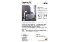 Concept Smoke Detector Testing System (SDT) - Brochure