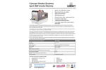 Concept Smoke Systems Spirit 900 Smoke Machine - Brochure