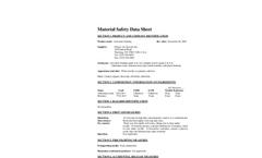 Activated  Alumina -100F MSDS