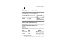 CL 300 Low Temp Oxid Catalyst G MSDS
