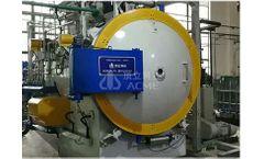 ACME - Horizontal Twin Chamber Vacuum High Pressure Gas Quenching Furnace
