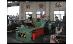 Chinese Hydraulic Baling Press for Metal Recycling  Video