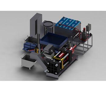 Metal recycling equipment for Aluminum processing industry - Metal - Aluminium-1