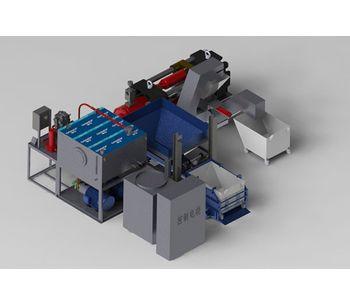 Metal recycling equipment for Aluminum processing industry - Metal - Aluminium