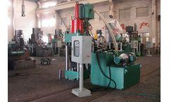 Ecohydraulic - Model SBJ-315 - Briquetting Press