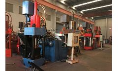 Ecohydraulic - Model SBJ-360 - Briquetting Press