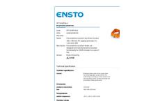Ensto - Model FPT1010PP46.4 - Fire Protection Junction Box Brochure