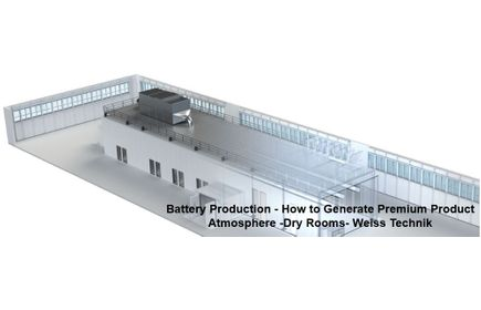 Webinar Join Us - Learn More On Battery Production - How to Generate Premium Product Atmosphere - Dry Rooms