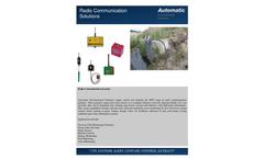 Radio Communication Systems Brochure