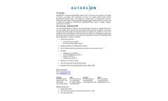 Autarcon Company Profile - Brochure