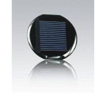 2.0V 80mA solar cell mini solar panels - Model solar cells 2.0V 80mA - High Efficiency Miniature Circular Solar Cell