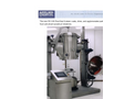 ACT - Model PG-100 - Bench/Pilot Scale Fluid Bed System - Brochure