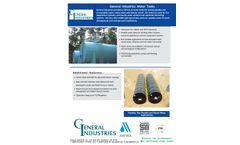 GI Water Tank - Brochure