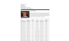 Chemical Tanks Brochure